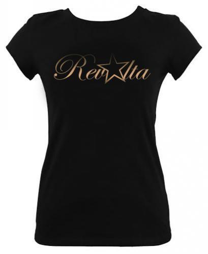 Tričko dámské černé Revolta 39393ac8249