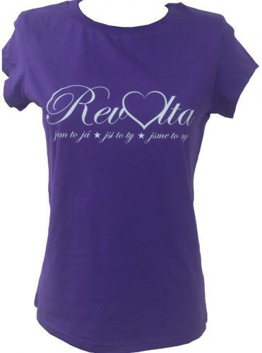 Tričko dámské fialové Revolta 1a214ea0571